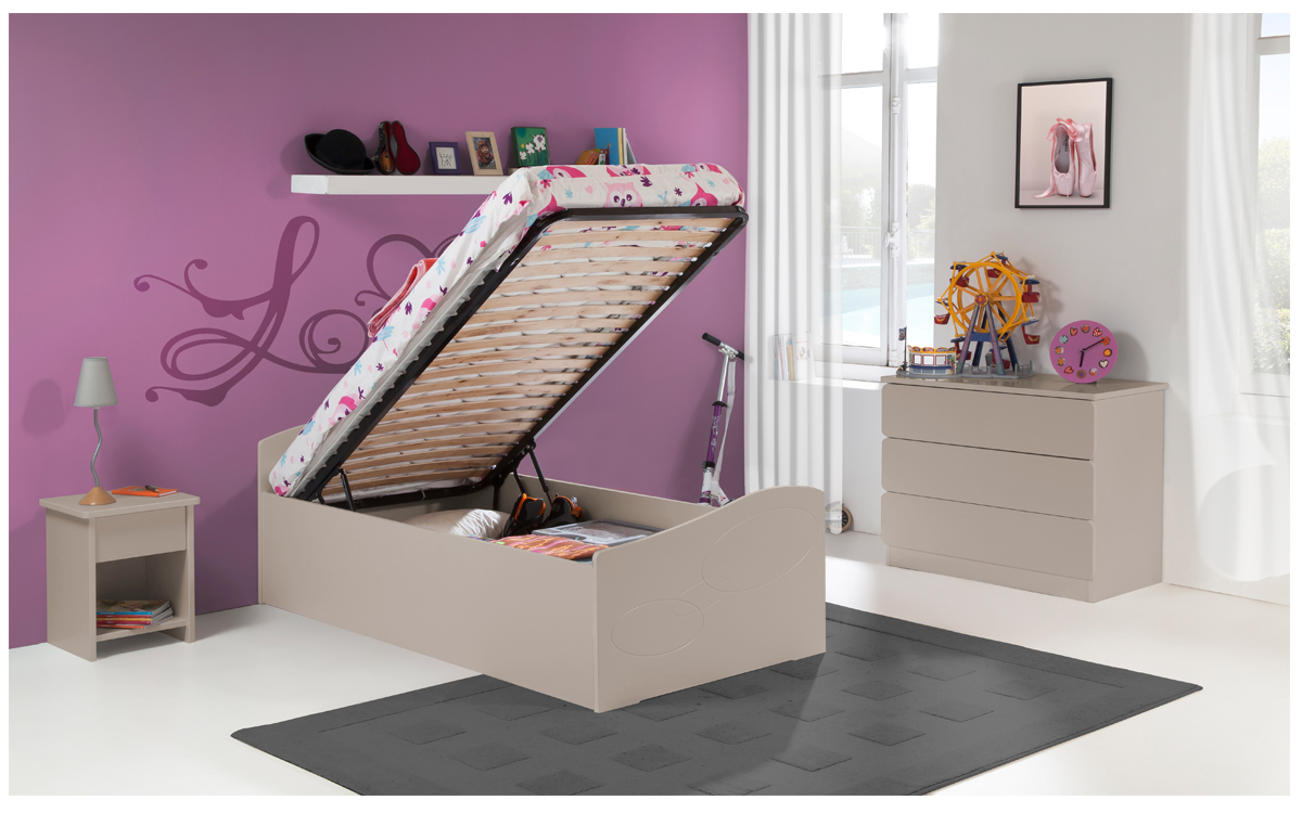 lit gigogne pour enfant maison design. Black Bedroom Furniture Sets. Home Design Ideas