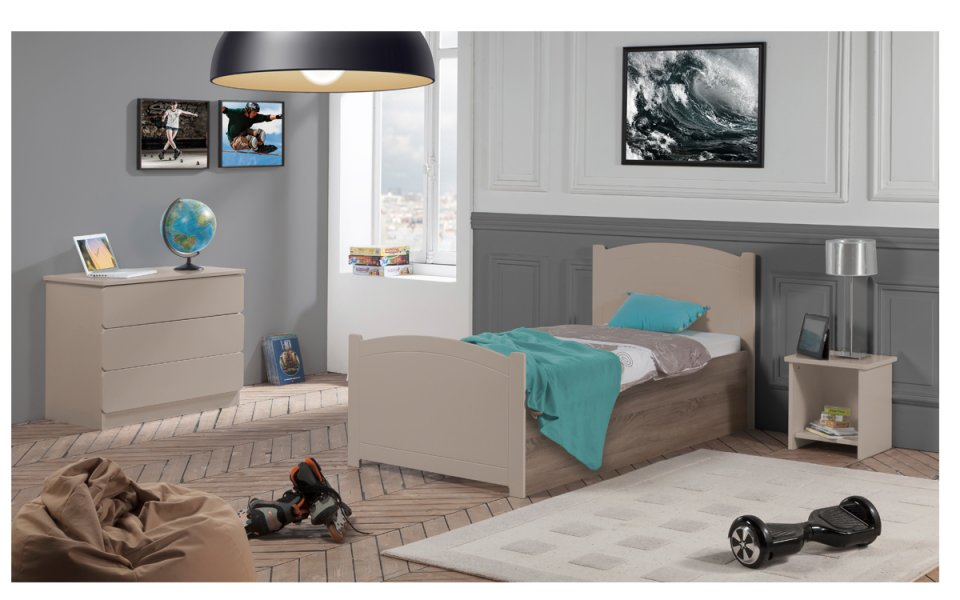chambre b b fille ou gar on grise chambre enfant grise. Black Bedroom Furniture Sets. Home Design Ideas