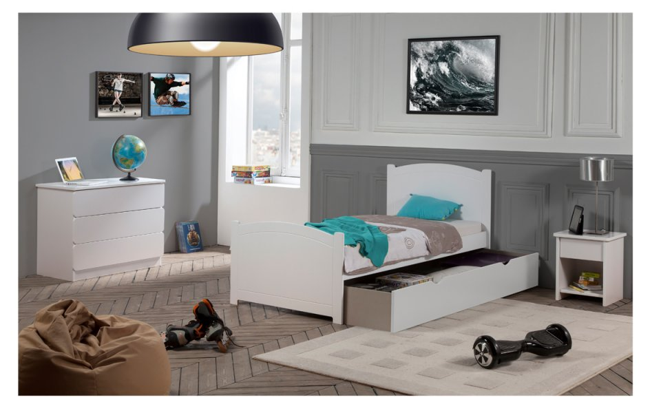 matelas enfant 90x190 mousse confort pour lit enfant. Black Bedroom Furniture Sets. Home Design Ideas