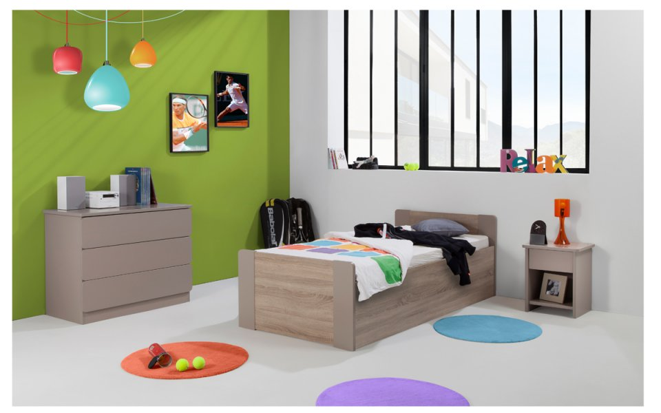 lit bebe 90x190. Black Bedroom Furniture Sets. Home Design Ideas