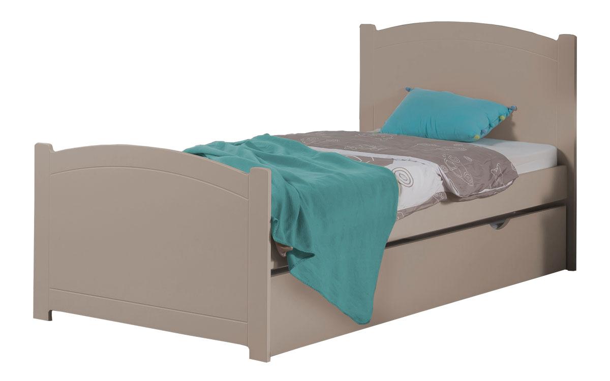 lit enfant ado avec tiroir rangement florence 90x190. Black Bedroom Furniture Sets. Home Design Ideas